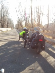 Rail-trail riders