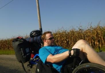 Sean Riding Trike